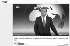 Ist Claus Kleber unprofessionell?